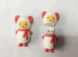 定制3D卡通记忆U盘套