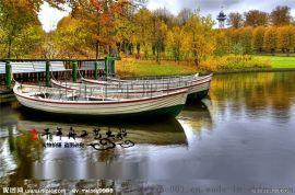 木质摄影婚纱工艺船道具木船定做