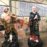 十八金刚降龙伏虎彩绘玻璃钢神像