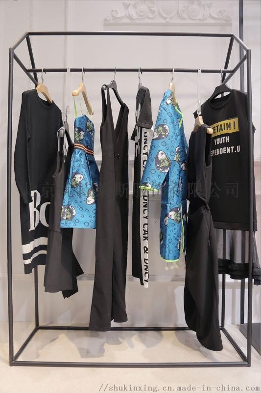 艺素国际长款毛衣尾货批发折扣女装 品牌羽绒服尾货