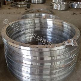 碳钢大口径法兰非标异型法兰大口径平焊法兰