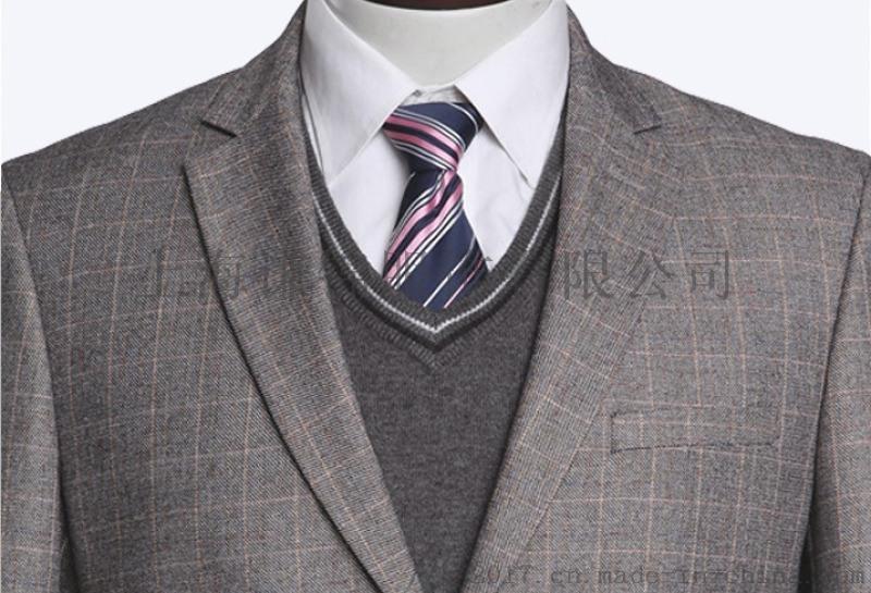 正装男款西服套装量身定做男士修身西装马夹三件套现货