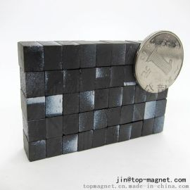 铁氧体永磁圆形磁铁优质喇叭环形黑磁打孔黑色磁铁方形10x8x6