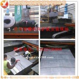 江苏供应耐腐蚀伸缩式高速机床导轨钢板防护罩/防尘罩