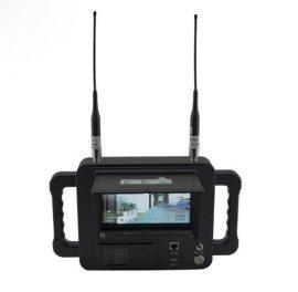 高清便携式接收机 遮阳罩无线图像接收机,无线视频监控设备,COFDM视频接收机