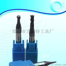 HRC50度超微粒钨钢铣刀涂层铣刀D1-D5锣刀非标6柄钥匙机铣刀