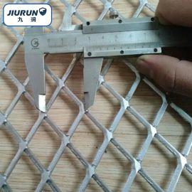 鍍鋅金屬菱形網 熱鍍鋼板網 機械設施防護金屬網
