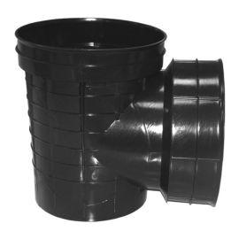 塑料检查井小区市政排水系统环保井筒沉泥90度流槽井坐厂家直销