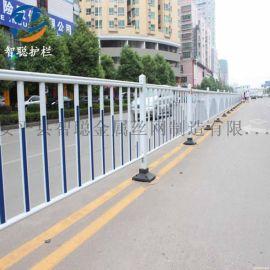工厂现货城市道路隔离护栏市政锌钢防撞护栏