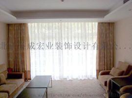 北京电动窗帘隔热蜂巢帘定做  遮光窗帘办公卷帘