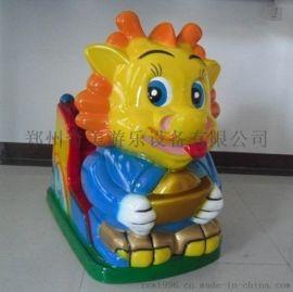 顏色靚麗優質兒童遊樂設備兒童搖搖車批發定制