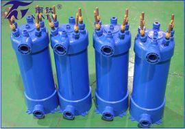 热泵热水器换热器高效罐换热器冷凝器钛螺纹管生产商家