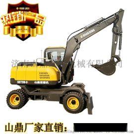 轮式挖掘机 轮式小型挖掘机