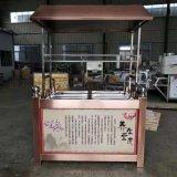 传热均匀起皮快的豆油皮机 手工豆皮机厂家
