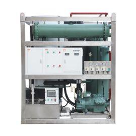 深圳兄弟制冰日产5吨管冰机 中小型食用制冰机柱冰机 饮品配冰