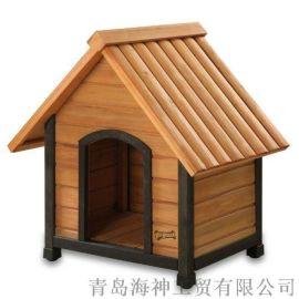 户外花园庭院木制木质宠物窝狗舍狗窝