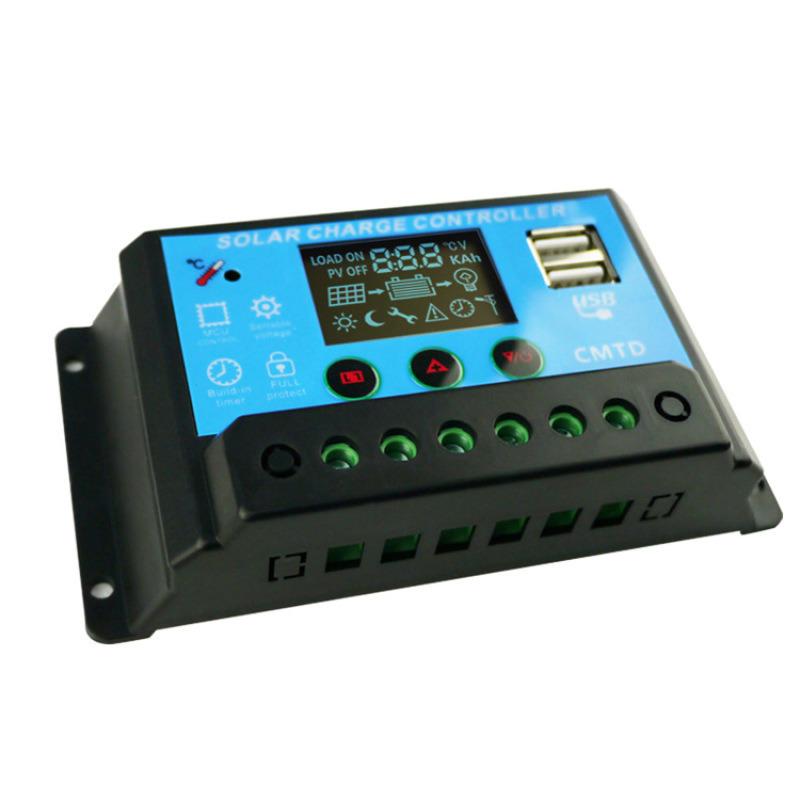 四串磷酸铁锂电池12.8V20A太阳能控制器