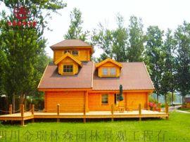 遂宁木屋厂家,景区休息木屋定制安装