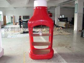 酒瓶亚克力展示架 塑料展示架 创意展示架深圳三兄