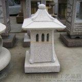 石燈 花崗巖仿古做舊石燈籠韓式庭院落地燈