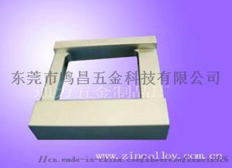 智能锁外壳 锌合金压铸件 铝合金压铸
