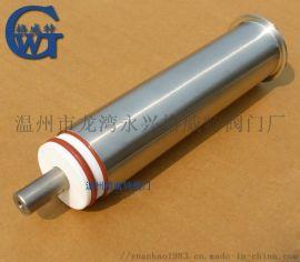 卫生级灌装机配件 活塞缸筒 三通转阀 灌装总成