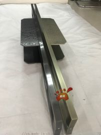 仿古铜不锈钢蚀刻祥云大门拉手制作流程