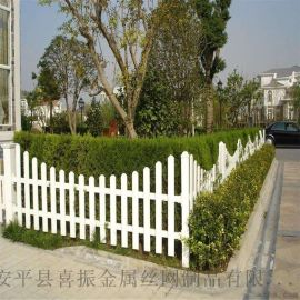 pvc草坪围栏、黄冈草坪护栏、初中  花池防护栏