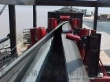 管帶輸送機輸送各種鬆散物料 加工定製