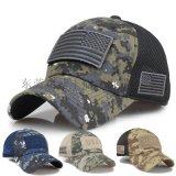 工廠定製戶外防曬太陽帽 迷彩刺繡棒球帽鴨舌帽太陽帽