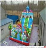 儿童跳跳床充气城堡大滑梯 移动