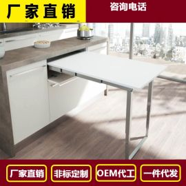 厂家直销多功能折叠桌 五金折叠桌折叠桌