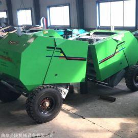 稻草秸秆捡拾打捆机,小麦秸秆压块机