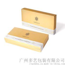 源头厂家定制化妆品包装盒精美翻盖书型礼盒