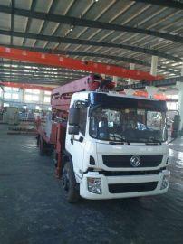 烟台鸿达小型32米混凝土臂架泵车