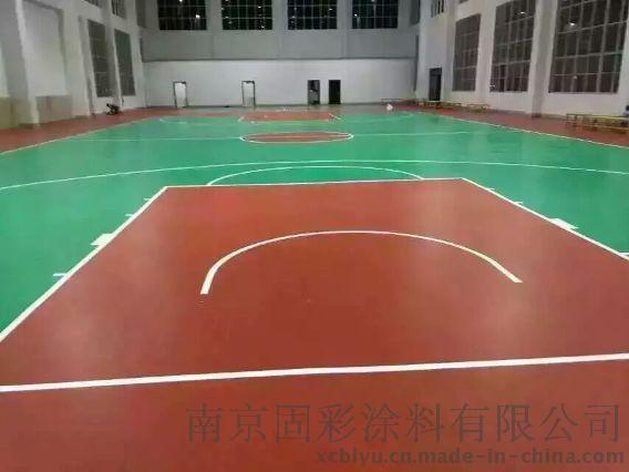 南京篮球场丙烯酸耐磨防滑地坪施工材料