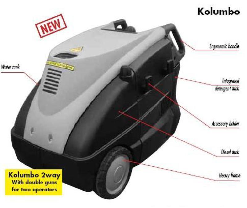 柴油蒸汽清洗機