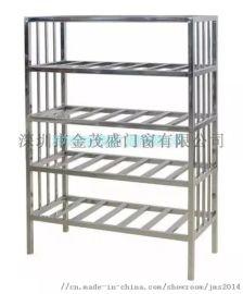 订制不锈钢货架 平板货架 搁物架 物料架 厨房台面立架