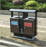 南宁环卫钢木垃圾桶 小区户外刚木垃圾桶厂家直销价格