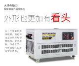 公司备用静音10千瓦汽油发电机组