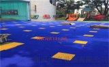 广东生产悬浮地板安装拼装地板篮球场厂家施工