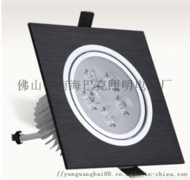 led方形筒灯 开孔嵌入式led双头筒灯
