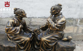 四川成都雕塑厂家,公园仿真人物动物雕塑设计定制