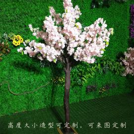 仿真樱花树 玻璃钢许愿树落地室内景观装饰植物