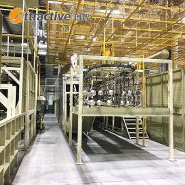 【广东创智】自动化涂装流水生产线 不粘锅生产设备