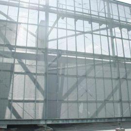 幕墙装饰铝板网 外墙金属铝板网 铝拉网