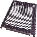 廠家定製鋁網板圍欄小區樓盤護欄拉伸鋁網格規格