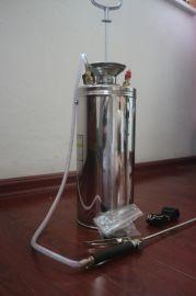 6L加超高档加固养兰花不锈钢喷药打药浇水消毒园艺农用喷雾器