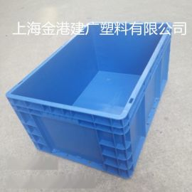 供應廠家直銷  600*400*280加厚塑料箱  物流包裝箱  塑料周轉箱