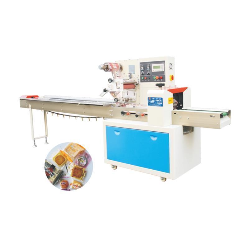 钦典钦典898全自动高速枕式毛刷理料洛神花红糖块复合膜包装机